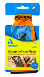 Aquapac - Герметичная сумка Mini Stormproof Phone Case Orange