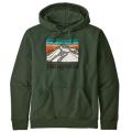 Patagonia - Худи с капюшоном Line Logo Ridge Uprisal Hoody