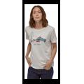 Patagonia - Женская футболка Live Simply Lounger Organic Crew T-Shirt
