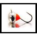 Lucky John - Мормышка подледная набор 5 штук Шар с петелькой и эпоксидной каплей 040 мм