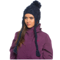 Roxy - Вязаная шапка - ушанка WHITEFACE BEANIE