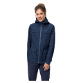 Jack Wolfskin - Водонепроницаемая женская куртка с капюшоном Fairview jacket