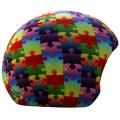 Coolcasc - Нашлемник яркий 148 Colour Puzzle