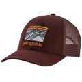 Patagonia - Кепка с вышитым логотипом Line Logo Ridge Lopro Trucker Hat