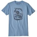 Patagonia - Футболка с принтом Nut VS Piton Organic T-Shirt