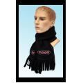 FOSSA - Зимний шарф Black Skarf