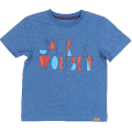 Jack Wolfskin - Легкая детская футболка BRAND T BOYS
