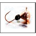 Lucky John - Мормышка вольфрамовая набор из 5 штук Капля с петелькой и эпоксидной каплей 040 мм
