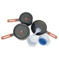Fire Maple - Набор посуды для пинкика из алюминия Feast 3