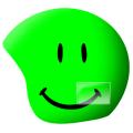 Coolcasc - Нашлемник с ярким дизайном FD53 Foggy Smile