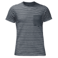 Jack Wolfskin — Футболка спортивная TRAVEL STRIPED T MEN