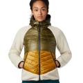 Mountain Hardwear - Утепленная женская куртка Altius Hybrid Hoody