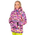 High Experience - Куртка с ярким принтом зимняя