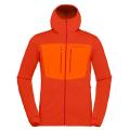 Norrona - Флисовая уртка с капюшоном Lyngen Powerstretch Pro Zip Hoodie