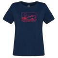 Norrona - Стильная мягкая футболка для женщин 29 Cotton Touring T-Shirt