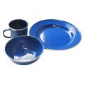 Tramp - Туристический набор посуды эмалированой TRC-074