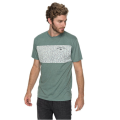 Quiksilver - Аккуратная футболка для мужчин Cactus Falls