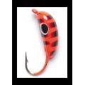 Lucky John - Мормышка для ловли крупной рыбы упаковка 5 штук Банан рижский крашеная 050 мм