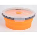 Tramp - Круглый силиконовый контейнер 0.8
