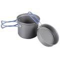 Tramp - Алюминевый котел с крышкой-сковородой 1л