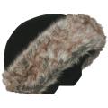 Coolcasc - Нашлемник с меховой опушкой E001 Brown Fur