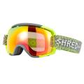 Shred - Маска яркая для горнолыжников Stupefy Norfolk Yellow + доп. линза