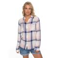Roxy - Женская рубашка в клетку