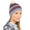 Roxy - Многоцветная шапка с помпоном