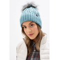 The North Face - Шапка теплая Oh-Mega Fur Pom Beanie