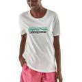 Patagonia - Комфортная футболка Pastel P-6 Logo Organic Crew T-Shirt