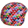Coolcasc - Нашлемник с милым принтом 104 Colour Hearts