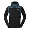 Norrona - Мужская флисовая куртка Falketind Warm1 Stretch Zip Hoodie