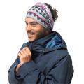 Jack Wolfskin - Шарф-труба на голову PRINT FLEECE HEADGEAR