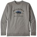 Patagonia - Стильный мужской пуловер Arched Fitz Roy Bear Uprisal Crew Sweatshirt
