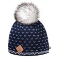 Kama — Теплая шапка с помпоном 2018-19 A105