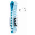 Petzl - Набор 10 оттяжек с резиновыми протекторами Axess String