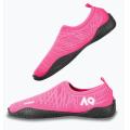 Aqurun - Яркие пляжные тапочки Edge Pink