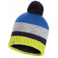 Buff - Шапка детская полосатая Child Knitted & Polar Hat Knut