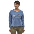 Patagonia - Стильный женский свитшот Live Simply Lounger Uprisal Crew Sweatshirt