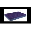 Relax - Удобная кровать Flocked Air Bed Double 191x137x22