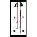 Masters - Телескопические палки Scout Tour Red