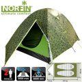 Norfin - Туристическая палатка 2-х местная COD 2 NC