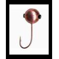 Salmo - Мормышка создающая отблески 5 штук Lucky John Шар с отв.и кембр. 030 мм