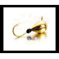 Lucky John - Мормышка привлекательная набор 5 штук Капля с петелькой и эпоксидной каплей 025 мм