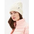 The North Face – Яркая шапка с подворотом Cable Minna Beanie
