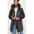 Superdry - Длинное зимнее пальто  Elements Tweed Hooded Parka