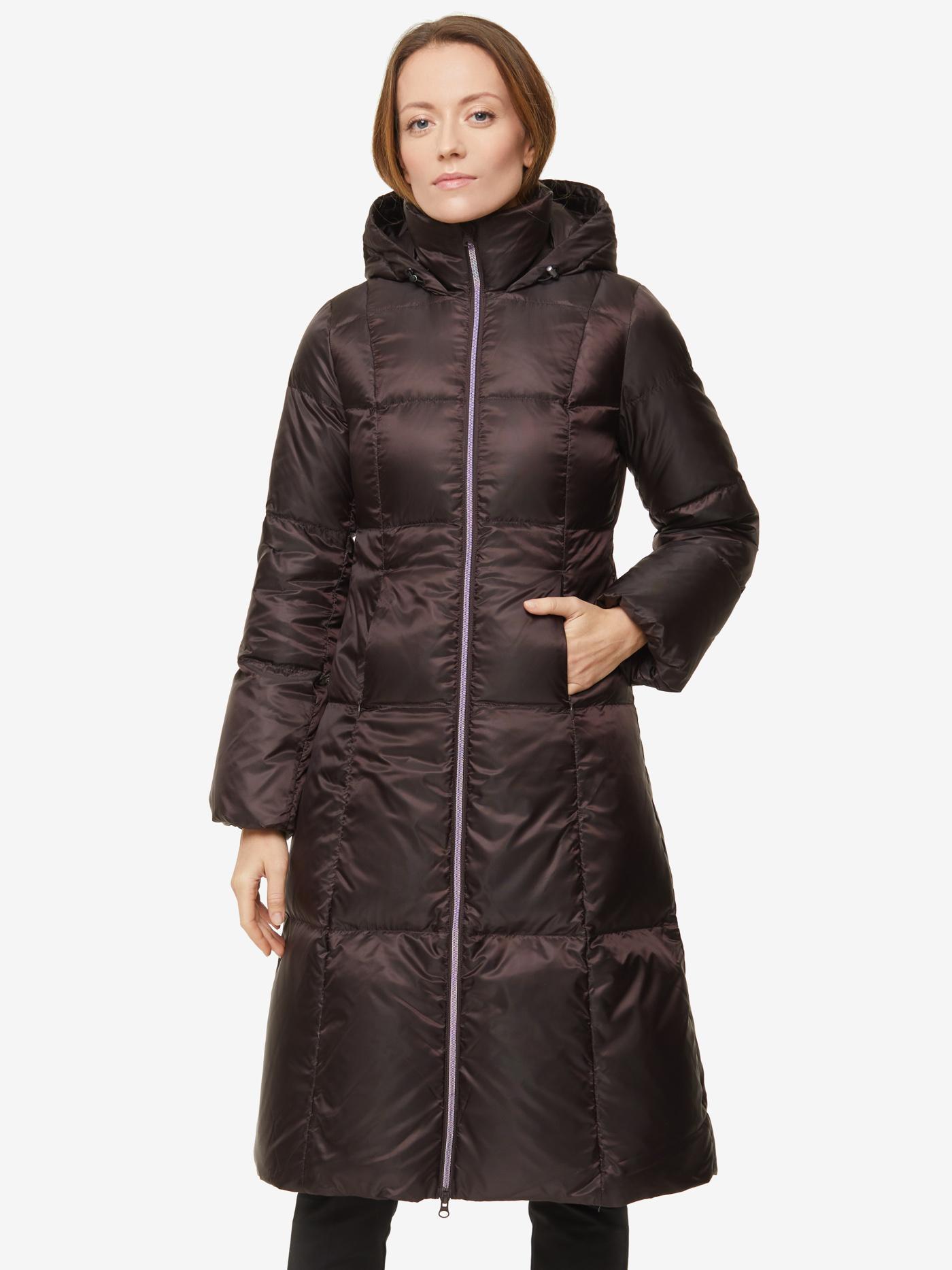 Пуховое Пальто Женское