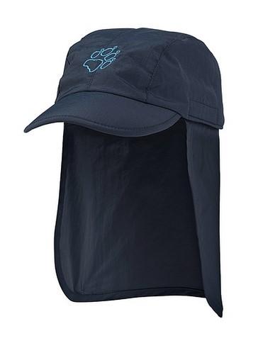 Jack Wolfskin - Детская кепка с защитой от солнца KIDS SUPPLEX SUN CAP