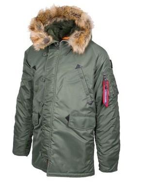 7d2432e16a259 Alpine Crown - Городская куртка-парка Air Force купить в интернет ...