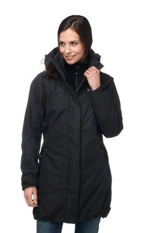 Jack Wolfskin — Пальто женское 3 в 1 Ottawa Coat Women
